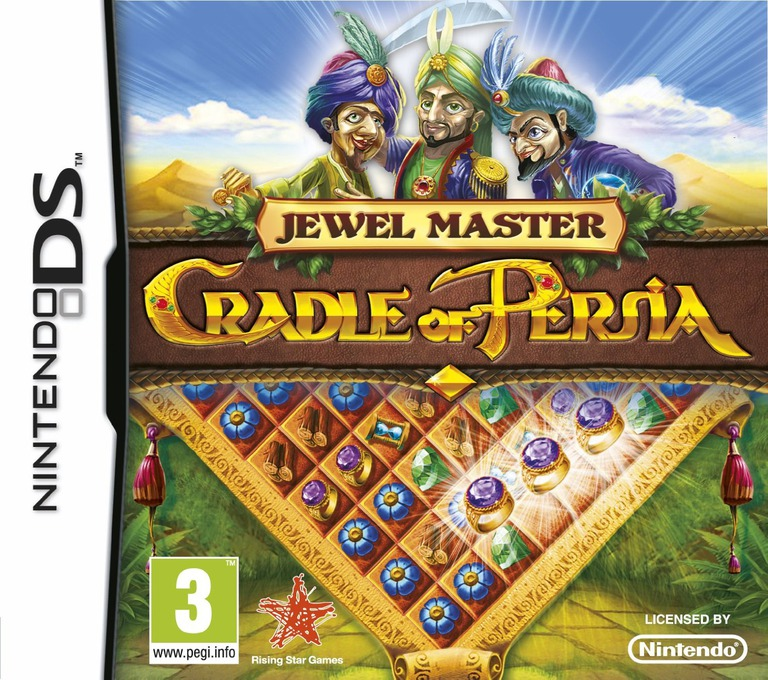 Jewel Master - Cradle of Persia DS coverHQ (TCRP)