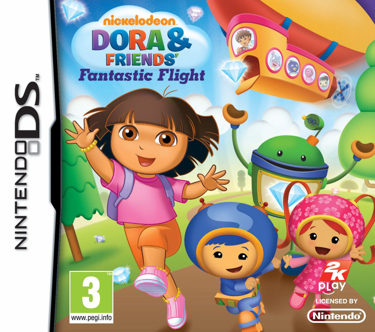 Dora & Friends' - Fantastic Flight DS coverHQ (TDUP)
