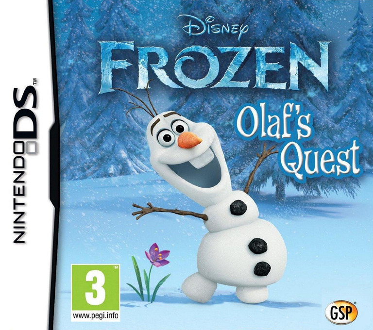 Disney Frozen - Olaf's Quest DS coverHQ (TFBX)