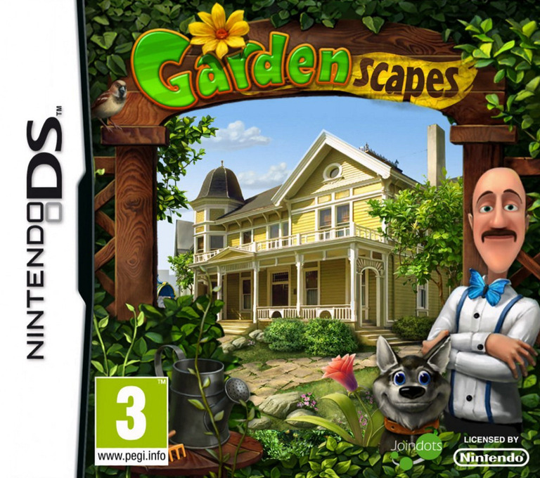 Gardenscapes DS coverHQ (TGAP)