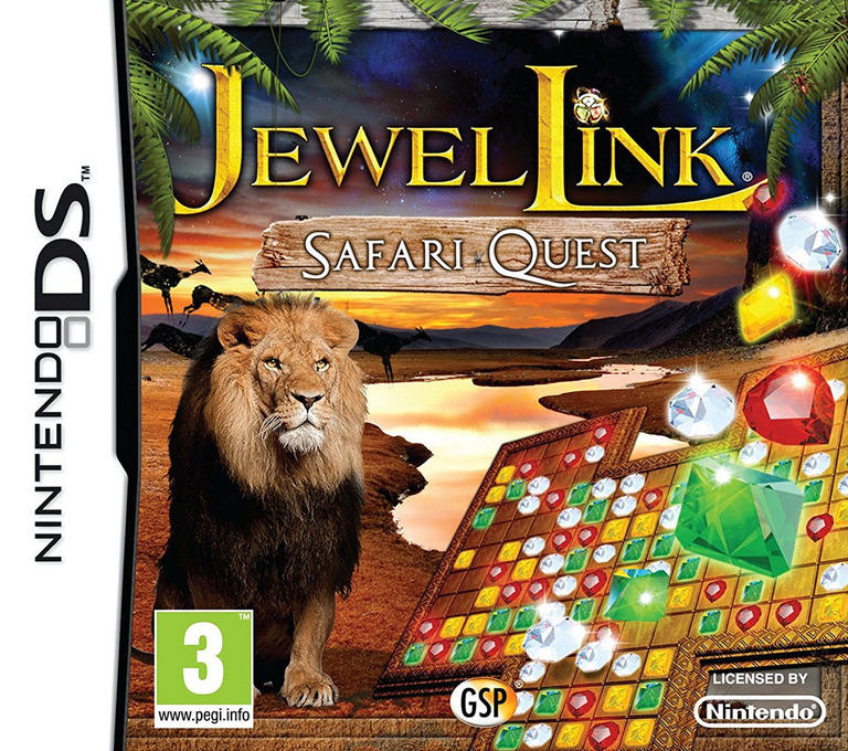 Jewel Link - Safari Quest DS coverHQ (TJSP)