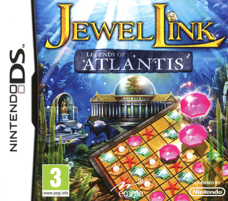 Jewel Link - Legends of Atlantis DS coverHQ (TLAP)