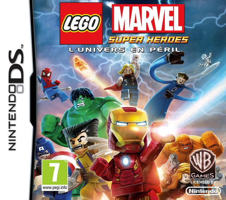LEGO Marvel Super Heroes - L'Univers en Peril DS coverHQ (TLMF)