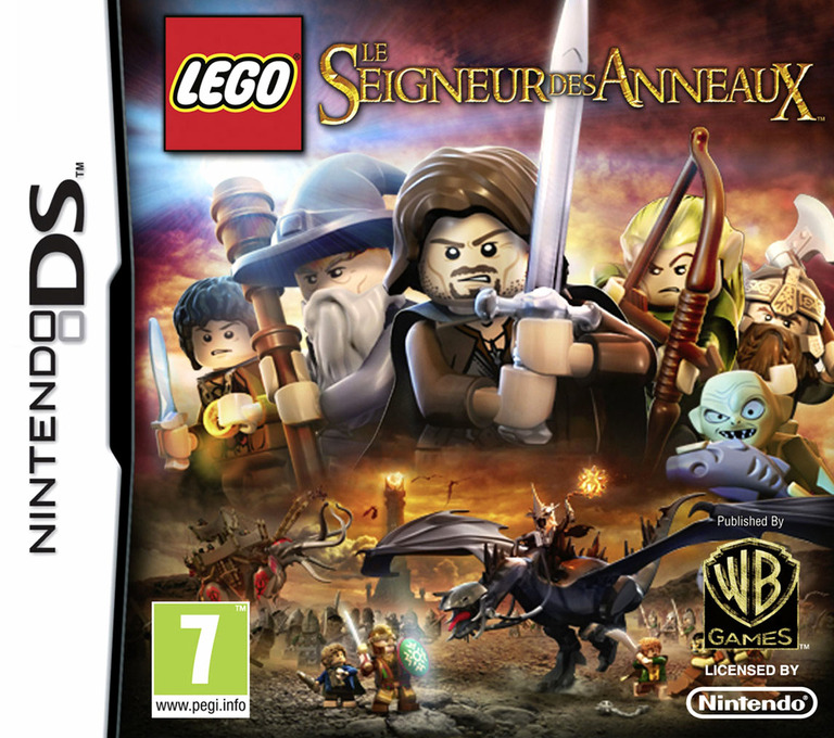 LEGO The Lord of the Rings DS coverHQ (TLRX)