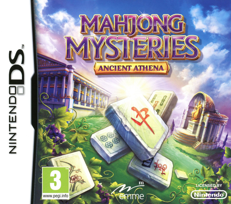 Mahjong Mysteries - Ancient Athena DS coverHQ (TMAP)