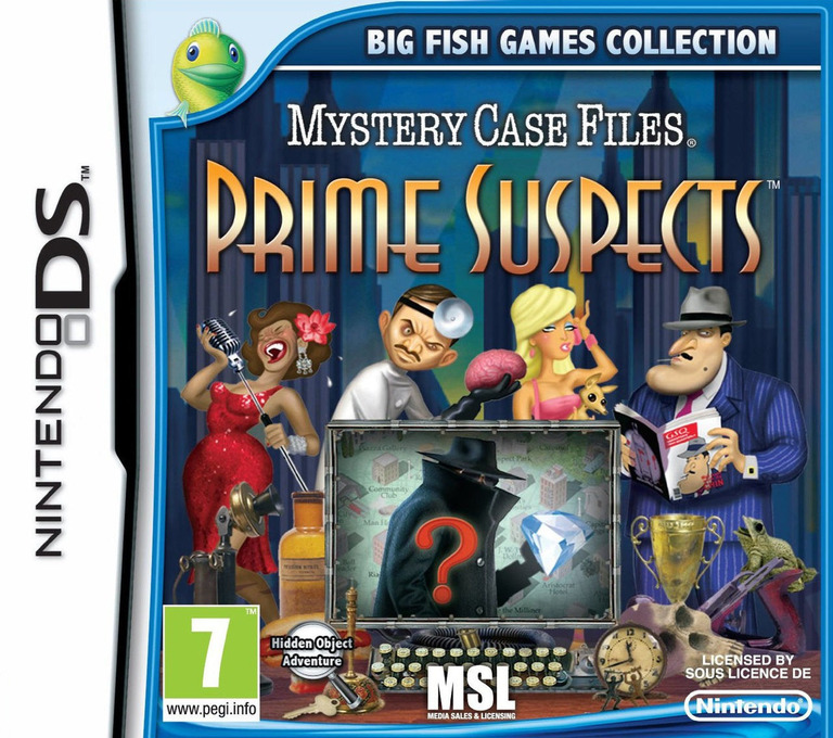 Mystery Case Files - Prime Suspects DS coverHQ (TPRP)