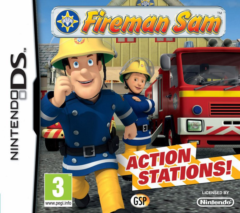 Fireman Sam - Action Stations DS coverHQ (TQSP)