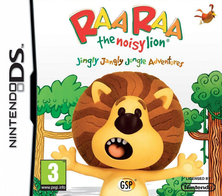 Raa Raa the Noisy Lion DS coverHQ (TRAP)