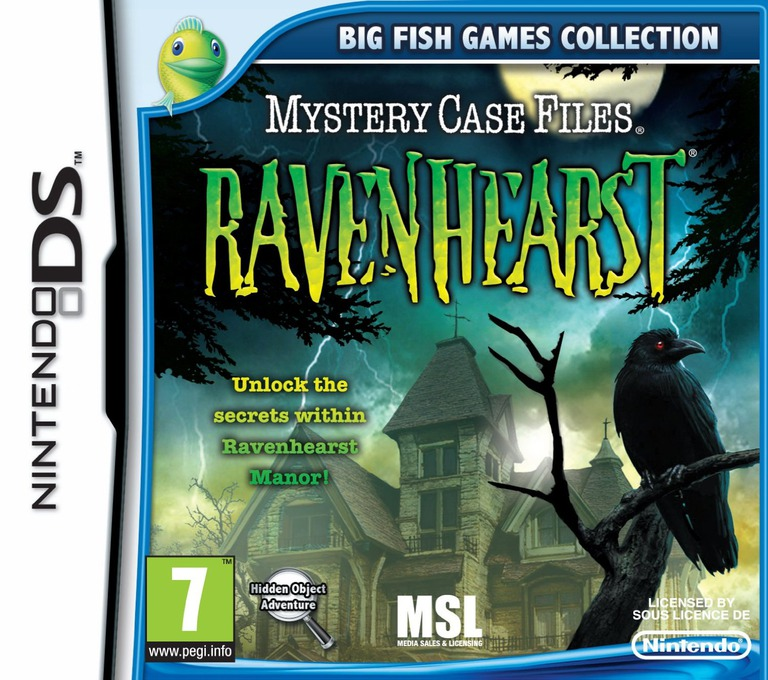 Mystery Case Files - Ravenhearst DS coverHQ (TRHP)