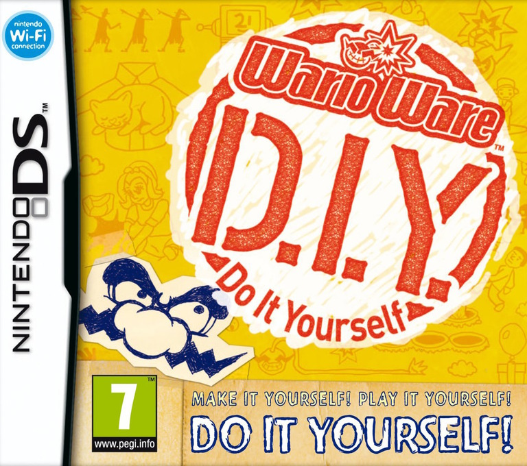 WarioWare - Do It Yourself DS coverHQ (UORP)