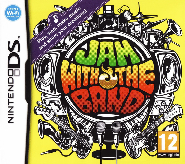 Jam with the Band DS coverHQ (UXBP)