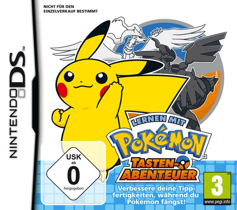 Lernen mit Pokémon - Tasten-Abenteuer DS coverHQ (UZPD)