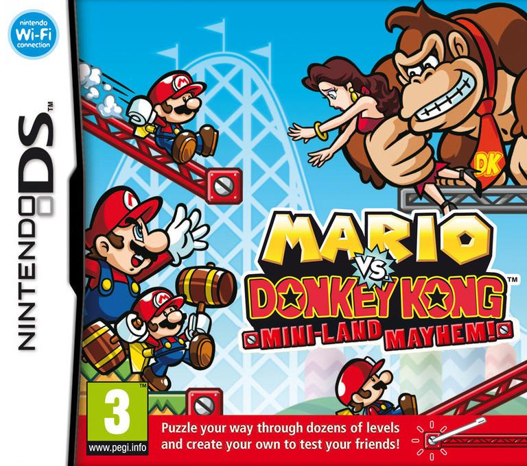 Mario vs. Donkey Kong - Mini-Land Mayhem! DS coverHQ (V2GV)