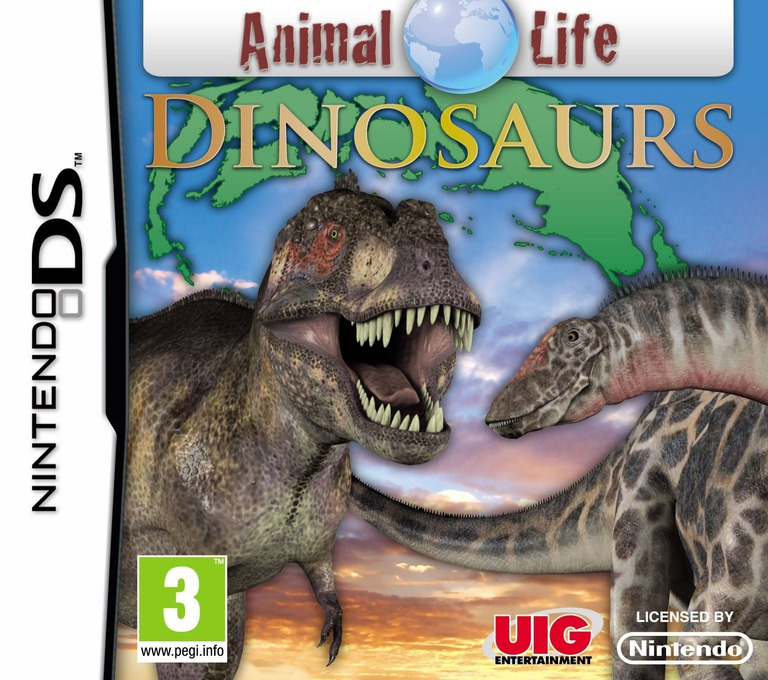 Animal Life - Dinosaurs DS coverHQ (VADP)