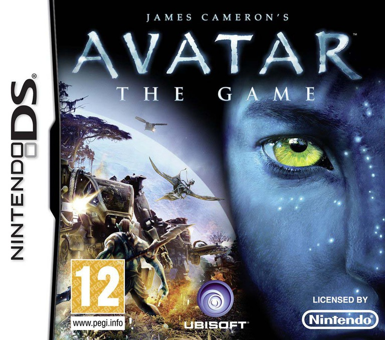 James Cameron's Avatar - The Game DS coverHQ (VAVV)