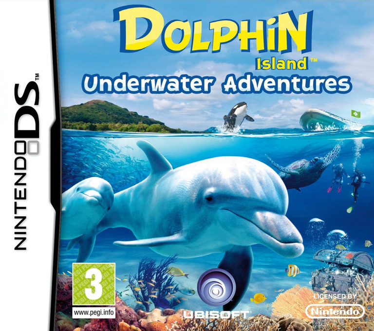 Dolphin Island - Underwater Adventures DS coverHQ (VBSV)