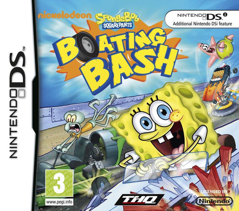SpongeBob SquarePants - Boating Bash DS coverHQ (VBVV)