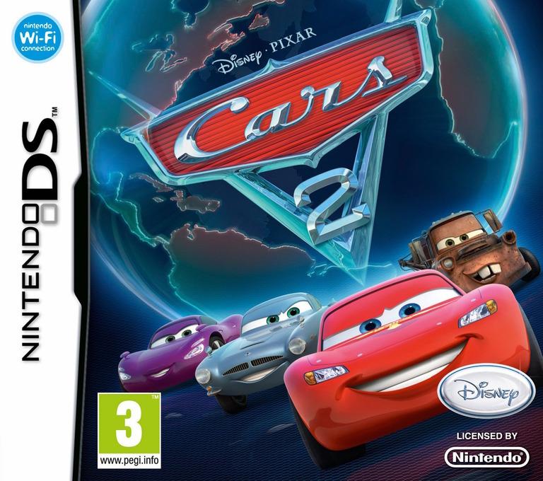 Cars 2 DS coverHQ (VCAX)