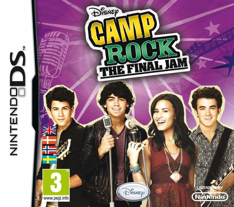Camp Rock - The Final Jam DS coverHQ (VCMV)