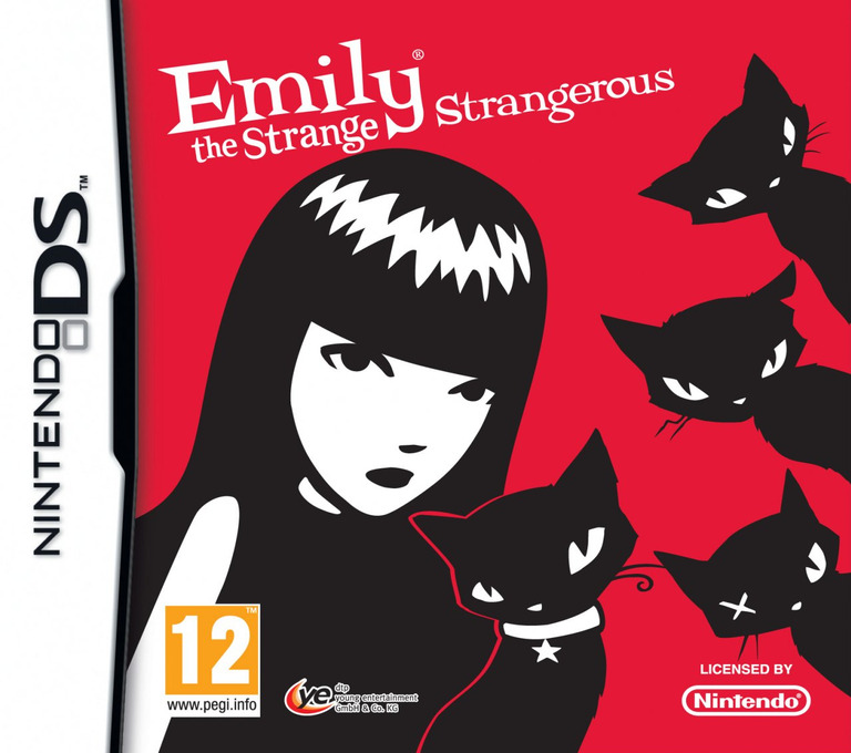 Emily the Strange - Strangerous DS coverHQ (VESV)