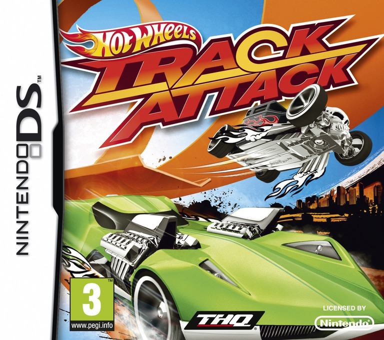 Hot Wheels - Track Attack DS coverHQ (VHWV)