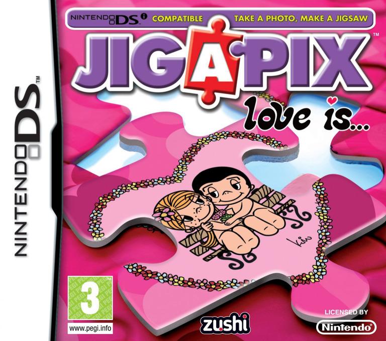 Jigapix - Love is... DS coverHQ (VJ2P)