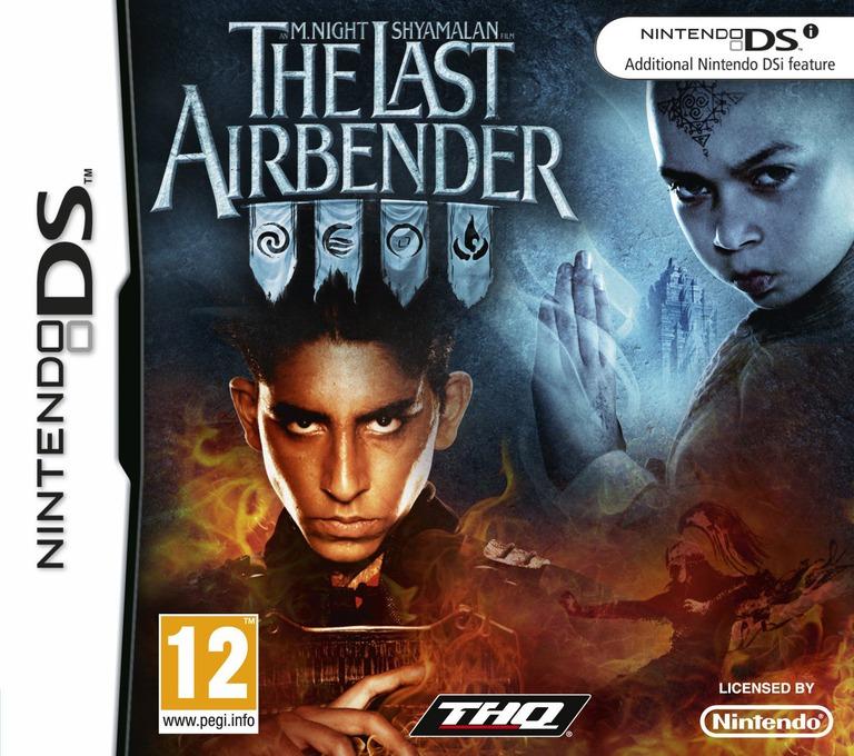 An M. Night Shyamalan Film - The Last Airbender DS coverHQ (VLAV)