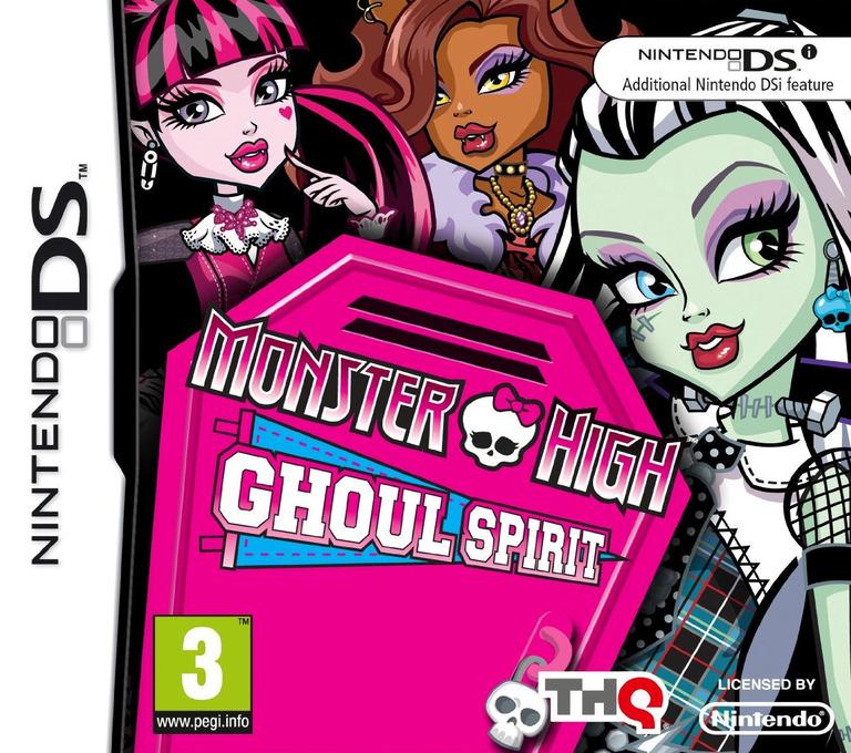 Monster High - Ghoul Spirit DS coverHQ (VM2X)