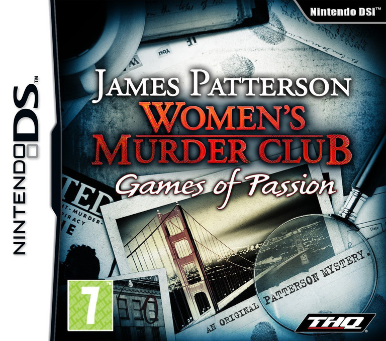 James Patterson Women's Murder Club - Games of Passion DS coverHQ (VMCV)
