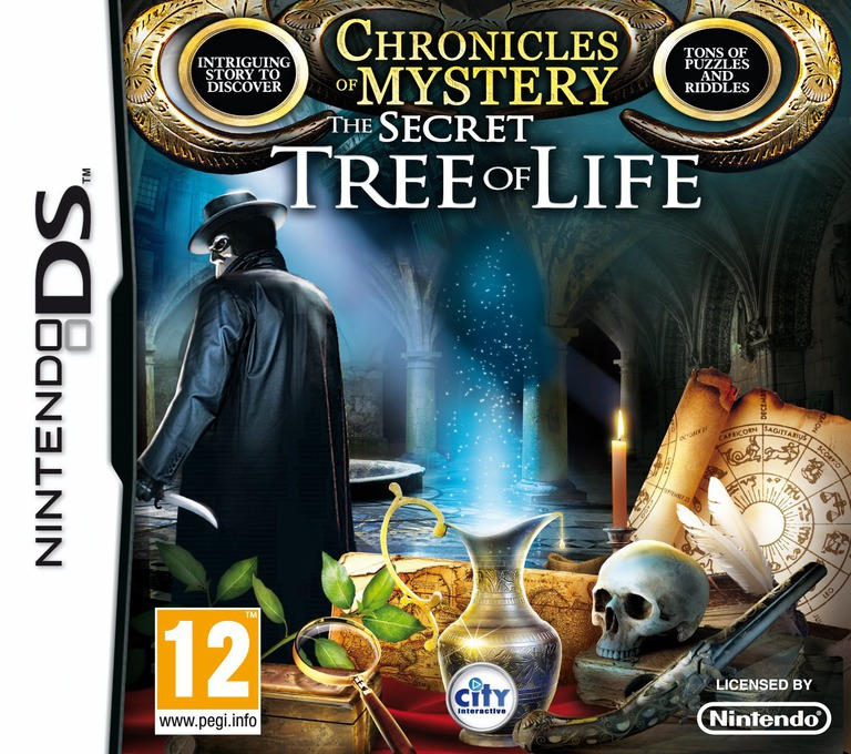 Chronicles of Mystery - The Secret Tree of Life DS coverHQ (VMYV)