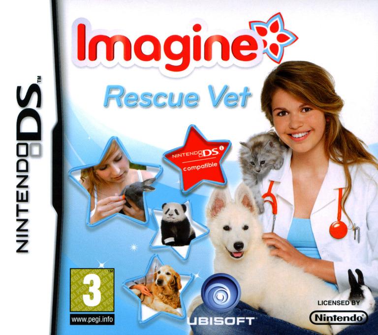 Imagine - Rescue Vet DS coverHQ (VPVV)