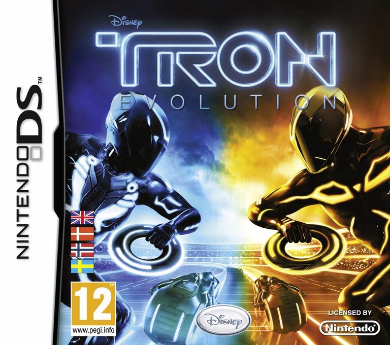 TRON - Evolution DS coverHQ (VTEX)