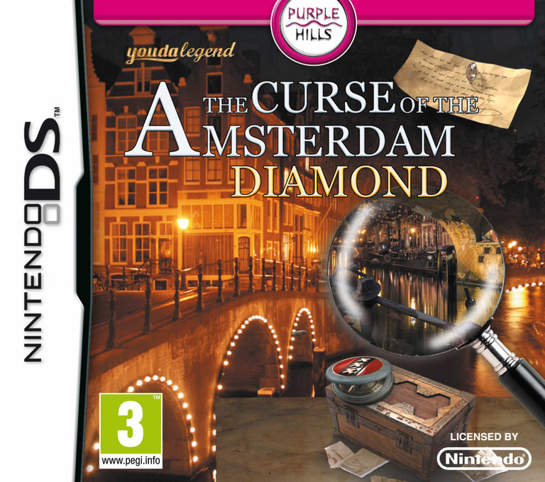Youda Legend - The Curse of the Amsterdam Diamond DS coverHQ (VYGP)