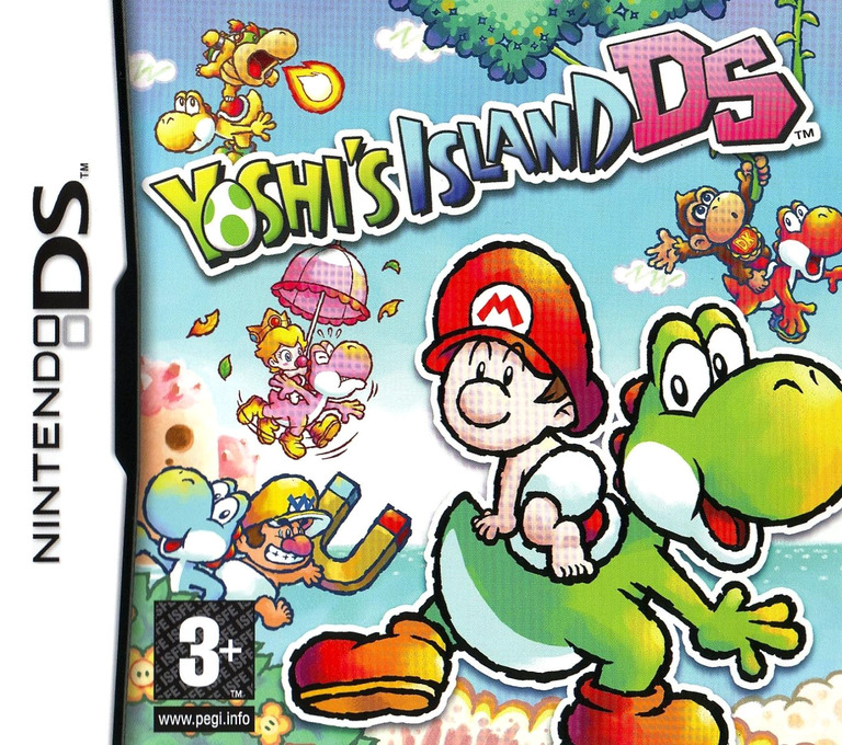 Yoshi's Island DS (Demo) DS coverHQ (Y28P)