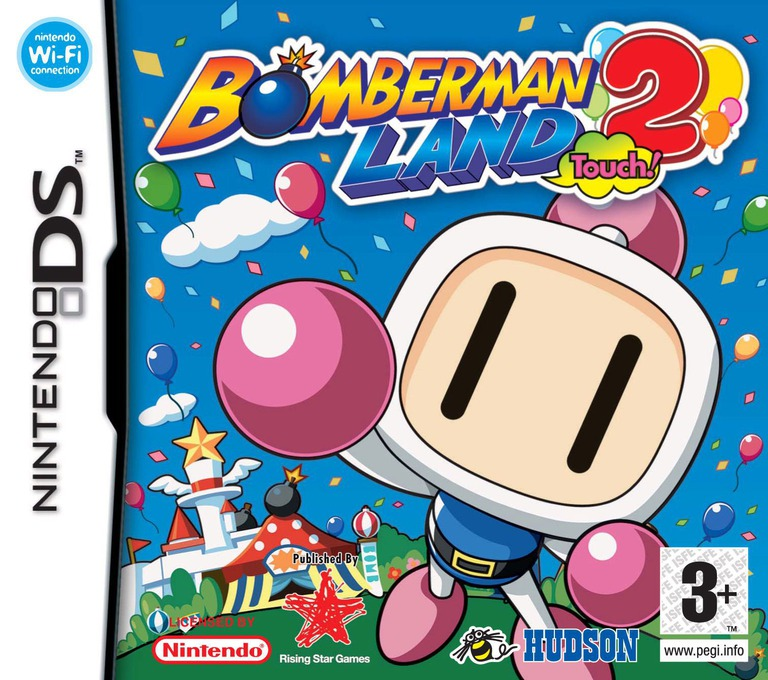 Bomberman Land Touch! 2 DS coverHQ (YB2P)