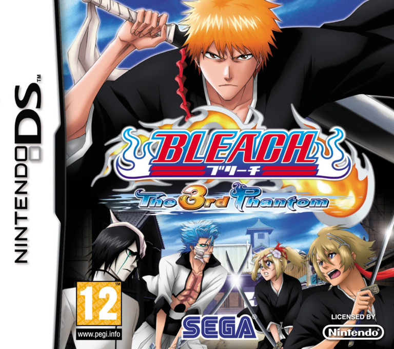 Bleach - The 3rd Phantom DS coverHQ (YBTP)