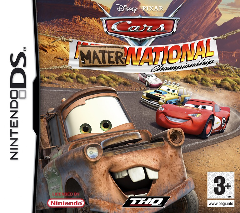 Cars - Mater-National Championship DS coverHQ (YCMP)