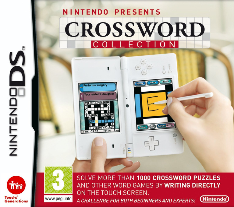 Nintendo Presents - Crossword Collection DS coverHQ (YCUP)
