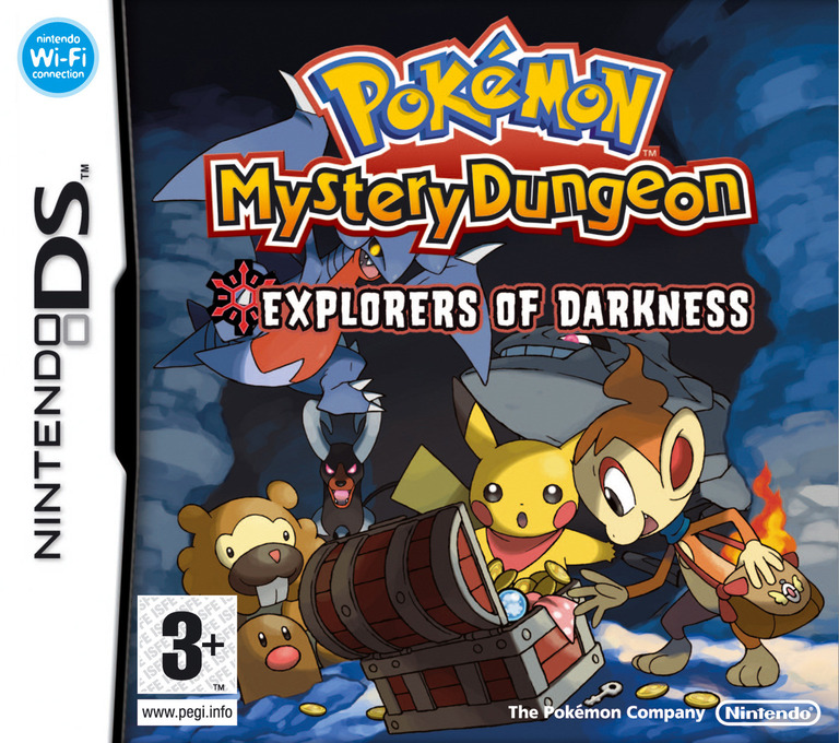 Pokémon Mystery Dungeon - Explorers of Darkness DS coverHQ (YFYP)