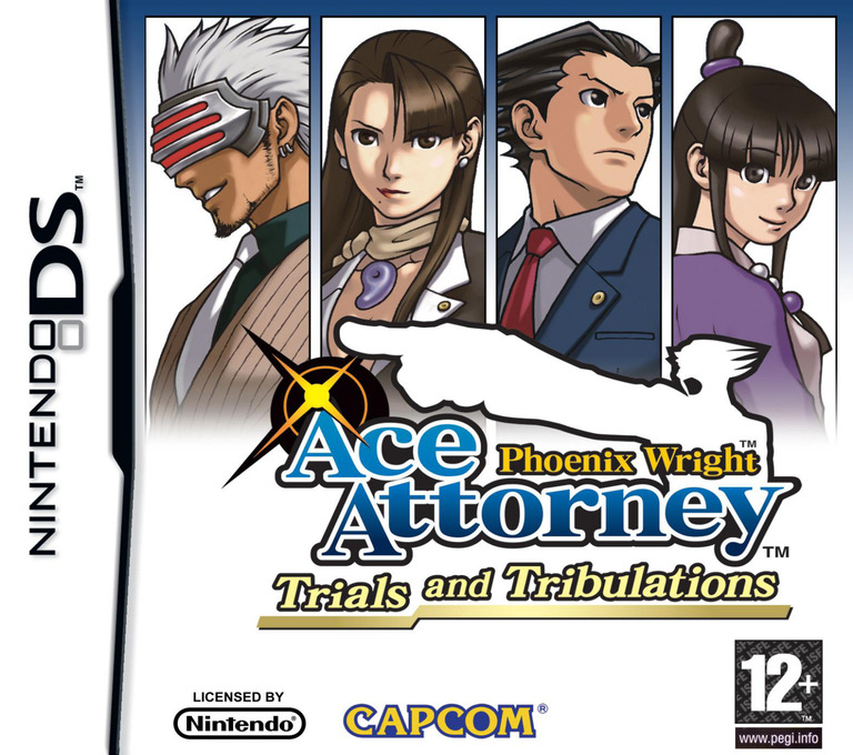 Phoenix Wright - Ace Attorney - Trials and Tribulations DS coverHQ (YG3P)