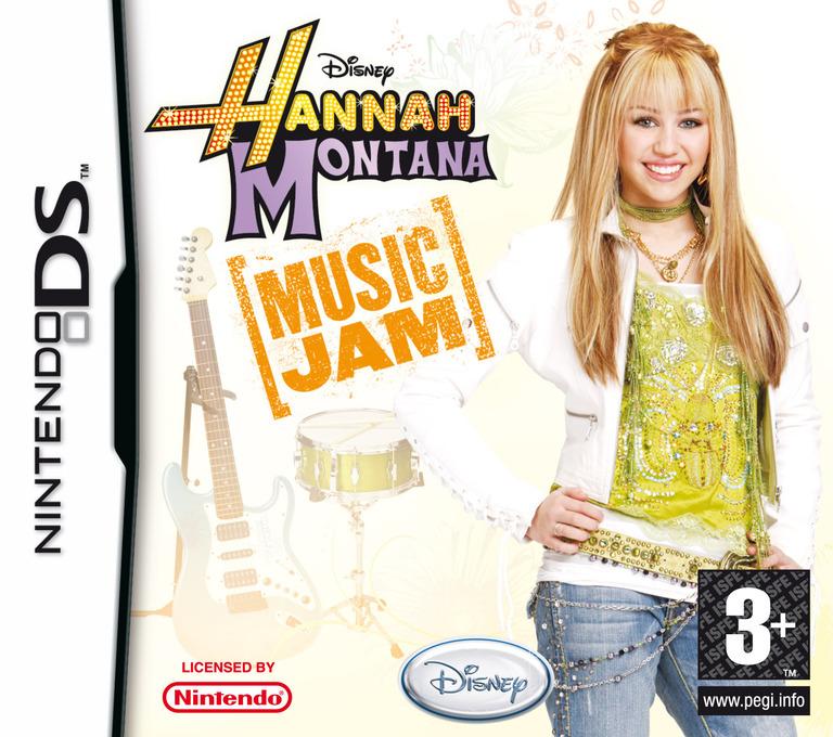 Hannah Montana - Music Jam DS coverHQ (YH2P)