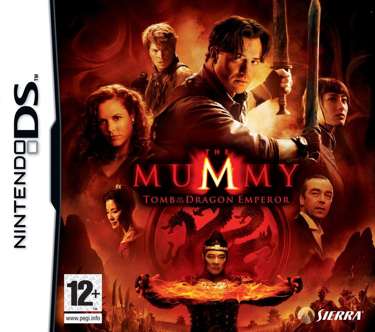 The Mummy - Tomb of the Dragon Emperor DS coverHQ (YHDP)