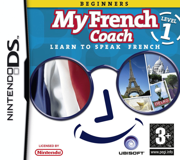 My French Coach - Level 1 - Learn to Speak French DS coverHQ (YIFP)