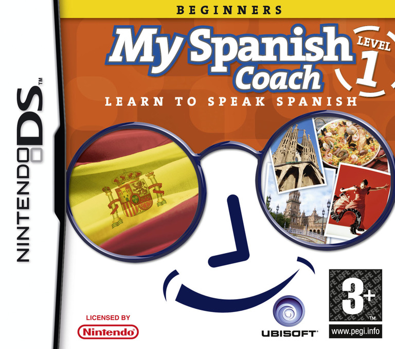 My Spanish Coach - Level 1 DS coverHQ (YISP)