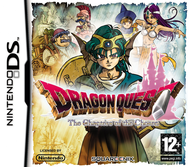 Dragon Quest - The Chapters of the Chosen DS coverHQ (YIVP)
