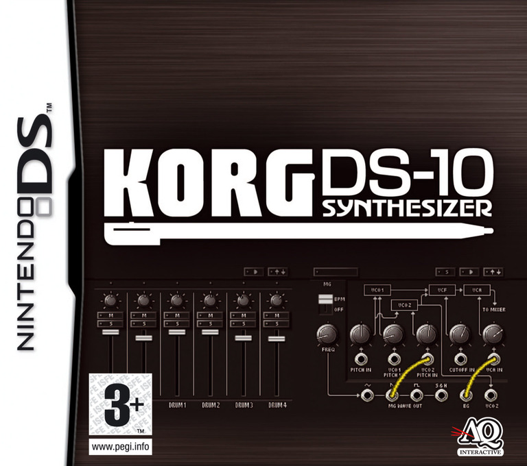 Korg DS-10 Synthesizer DS coverHQ (YJ9P)