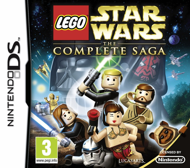LEGO Star Wars - The Complete Saga DS coverHQ (YLGP)