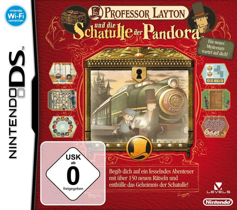 Professor Layton und die Schatulle der Pandora DS coverHQ (YLTD)
