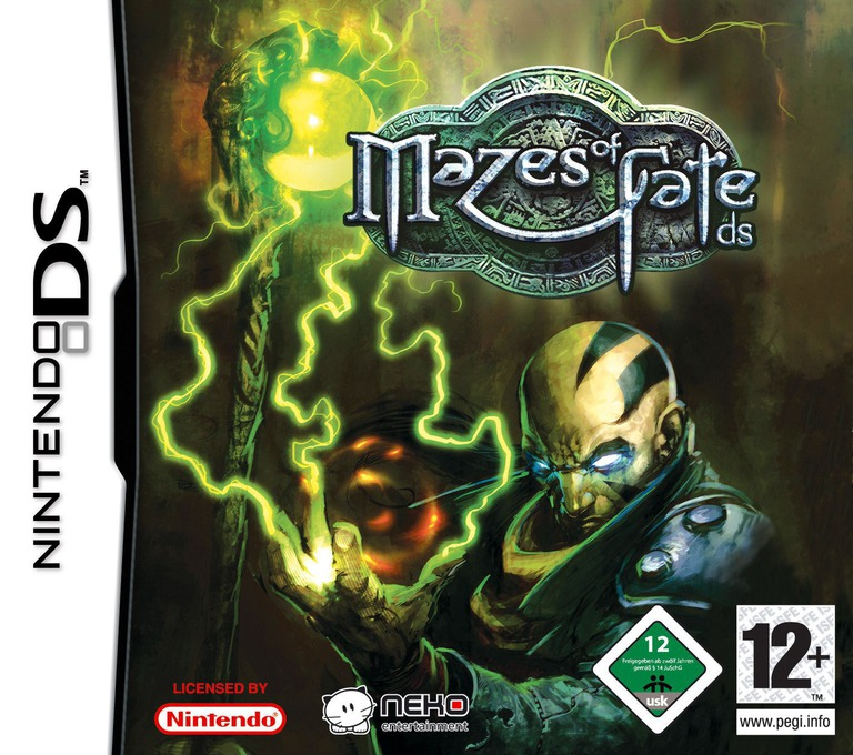 Mazes of Fate DS DS coverHQ (YMFP)