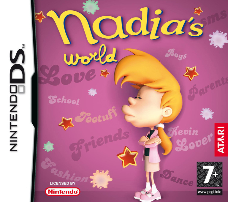 Nadia's World DS coverHQ (YMNP)